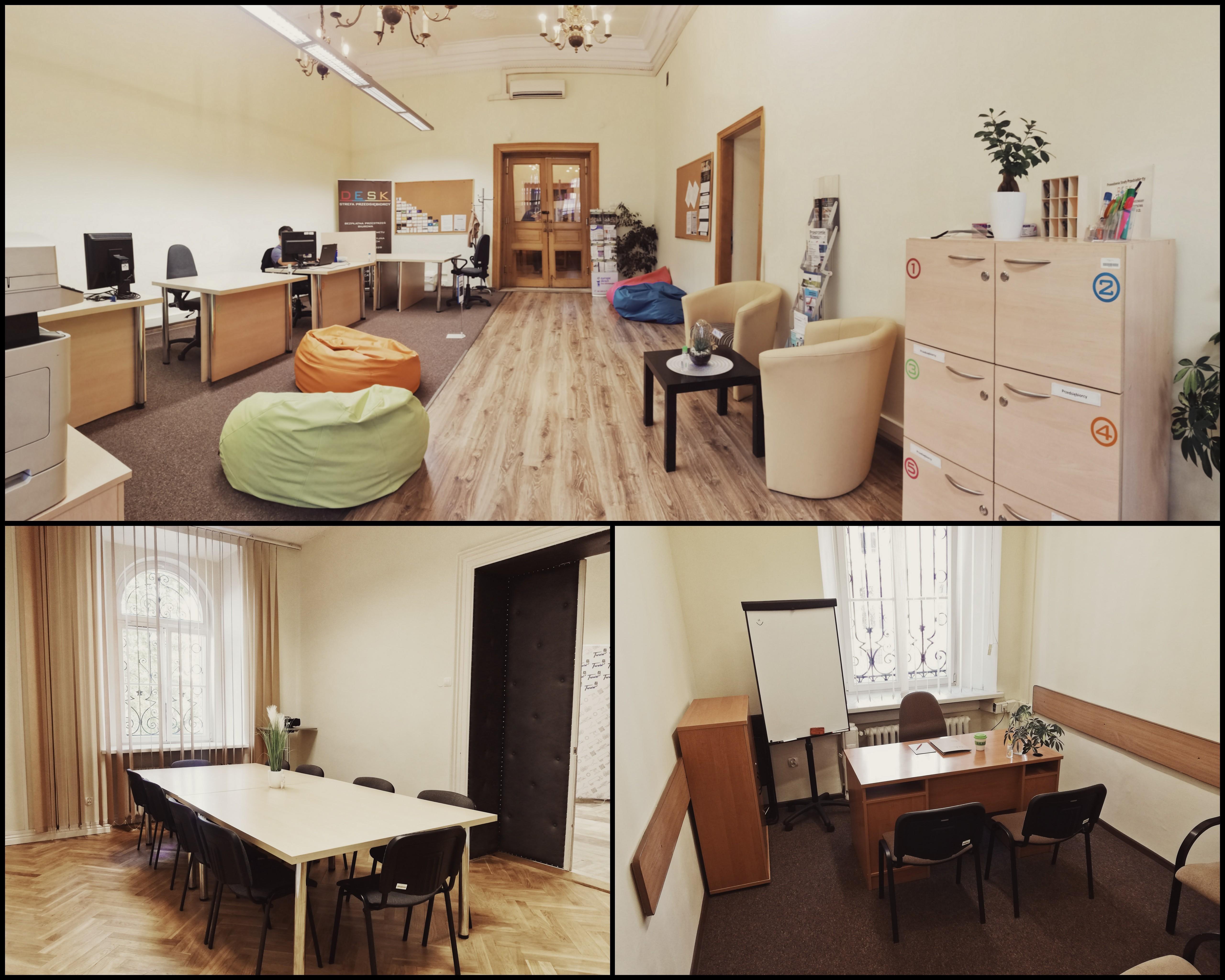 Sala szkoleniowa, miejsce do pracy i spotkań-BEZPŁATNIE Tarnów
